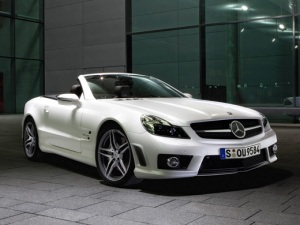 pic of Benz SL