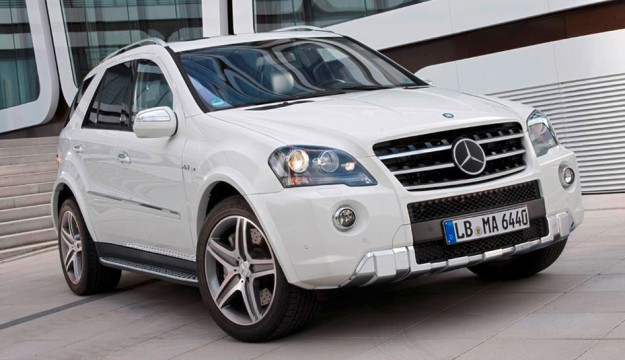 Mercedes Benz M Class 2011. 2011 Mercedes-Benz ML 63 AMG