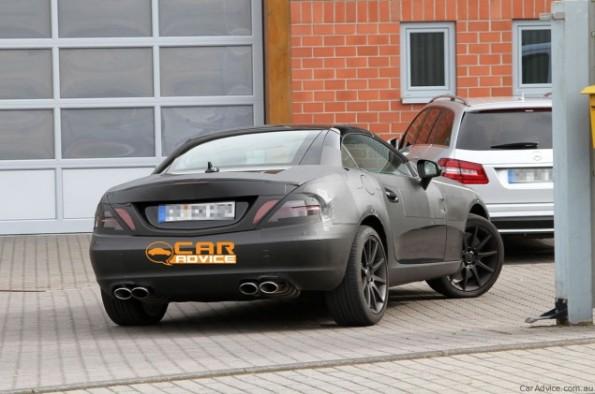 2011 Mercedes-Benz SLK AMG Spy Photos Uncovered
