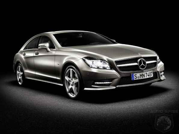2012 Mercedes-Benz CLS Breaks Out