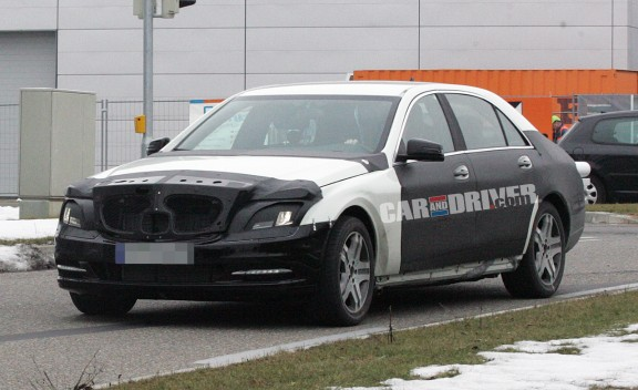 2012 Mercedes-Benz S-class - S550 -S600 – Spied