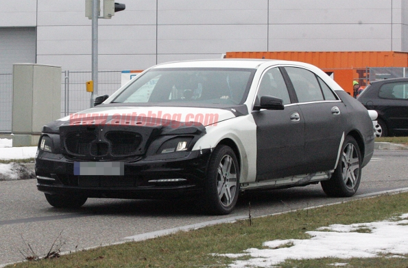 2012 Mercedes-Benz S-Class spotted