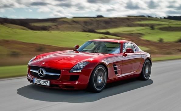 2012 Mercedes-Benz SLS AMG Preview
