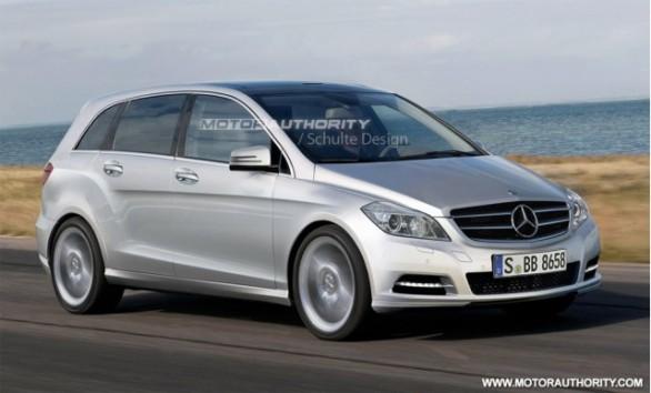 New Mercedes – Benz B-Class M.Y. 2012