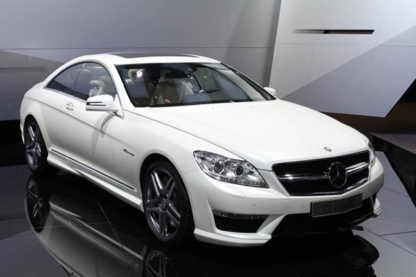 Paris 2010 - 2011 Mercedes-Benz CL63 AMG mixes Wall Street and Miami Vice