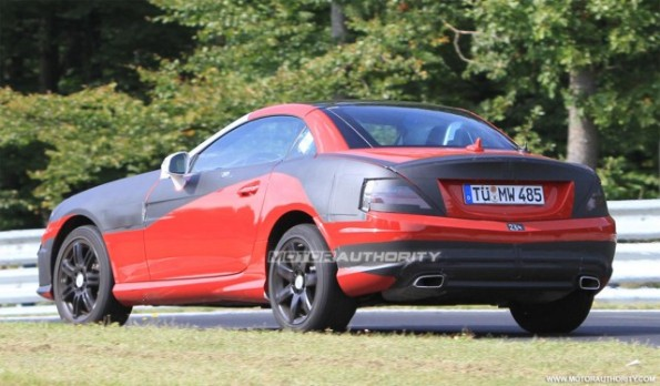 Spy Shots - 2012 Mercedes-Benz SLK