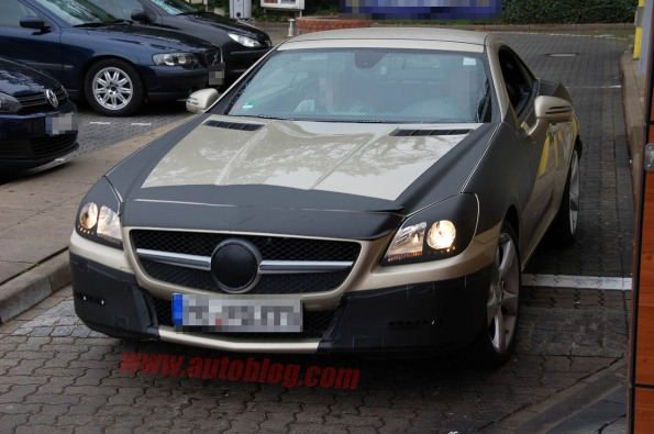 Spy Shots - Clearest look yet at 2012 Mercedes-Benz SLK